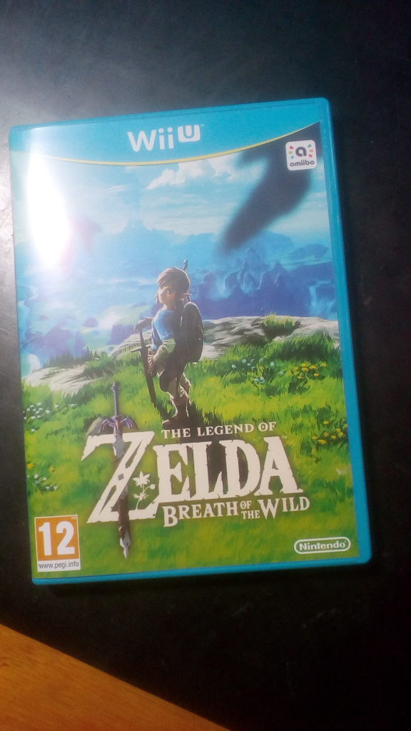 Caja de The Legend Of Zelda Breath Of The Wild WII U