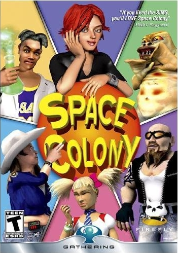 Caratula de Space Colony