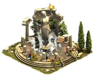 Oráculo de Delfos Forge of Empires