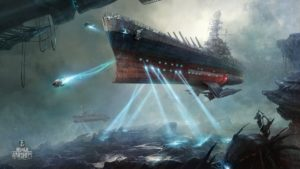 Arte World Of Warships Space Battles