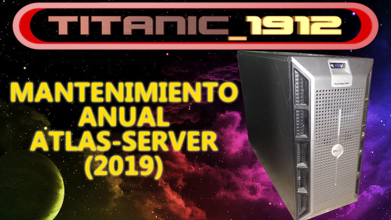 MANTENIMIENTO ANUAL ATLAS-SERVER (2019) | SERVERVENTURA